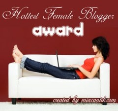 hottest-female-blogger-award